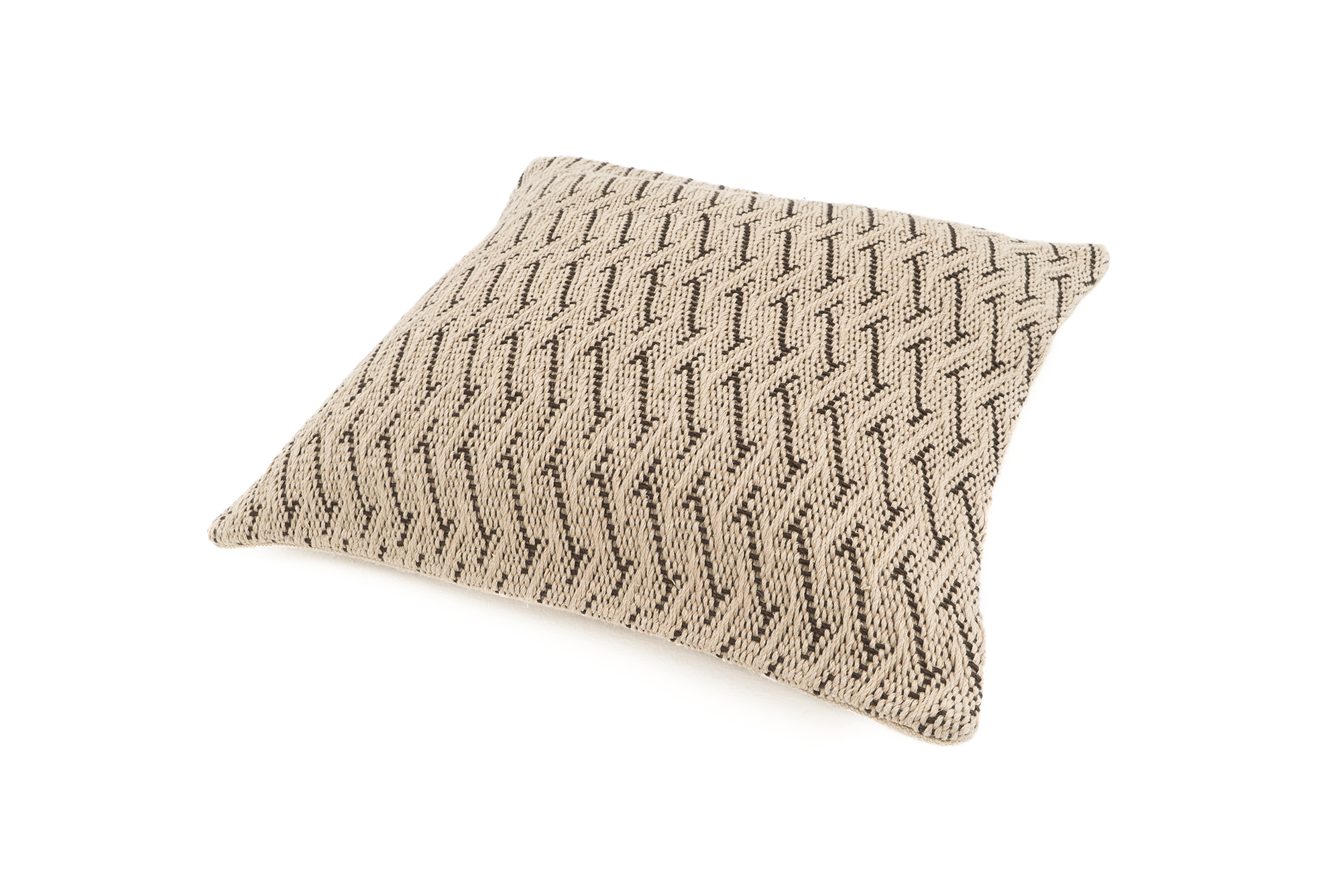 """Realm"" Handwoven Hemp Pillow Case"