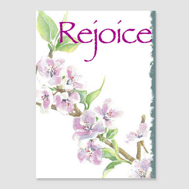 183GC Rejoice greeting card