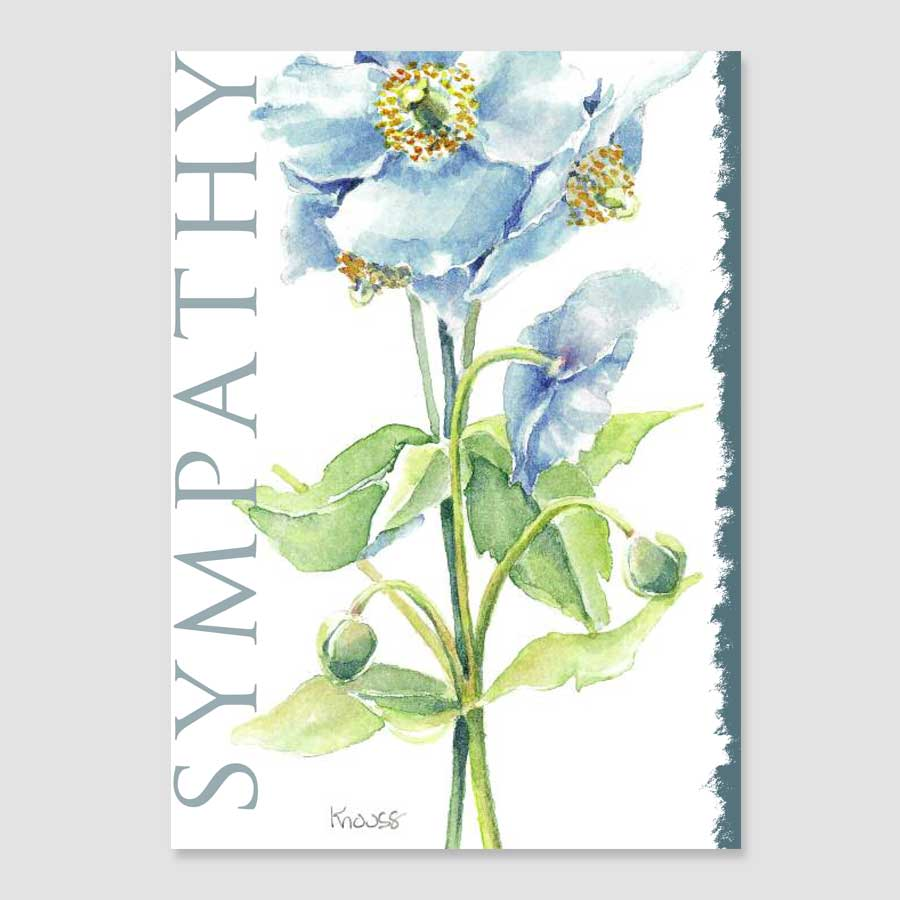 185gc sympathy greeting card martha knouss watercolours 185gc sympathy greeting card m4hsunfo