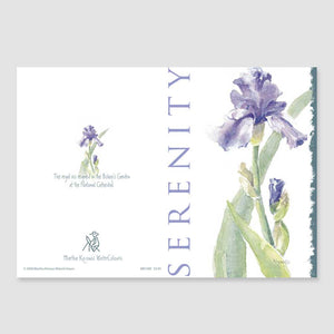 158GC Serenity greeting card
