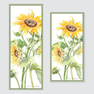 201B sunflowers banner