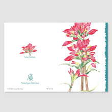 195MN Indian paintbrush mini-note card