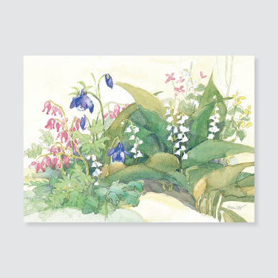 134 lilies of the valley note card / mini-note card