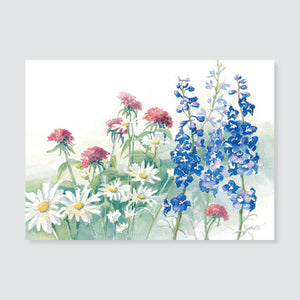 168 delphium note card / mini-note card