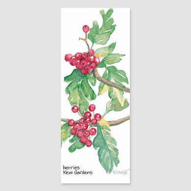 139B Kew berries bookmark