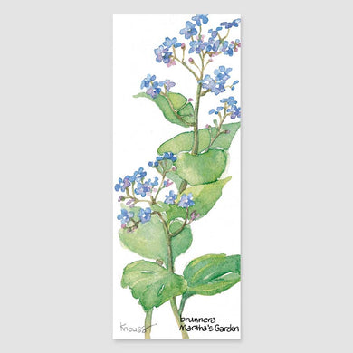 141B brunnera bookmark