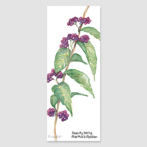 144B beauty berry bookmark