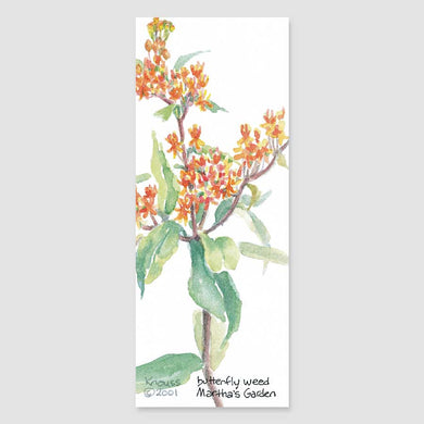 157B butterfly weed bookmark