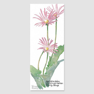 171B gerbera daisy bookmark