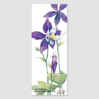 179B columbine bookmark