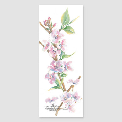 183B cherry blossoms bookmark