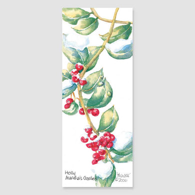 188B holly bookmark