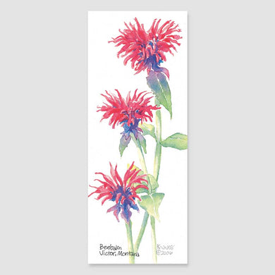 190B beebalm bookmark