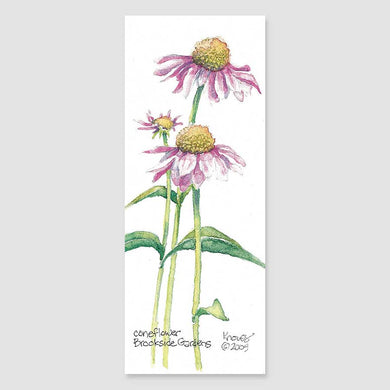 191B coneflower bookmark