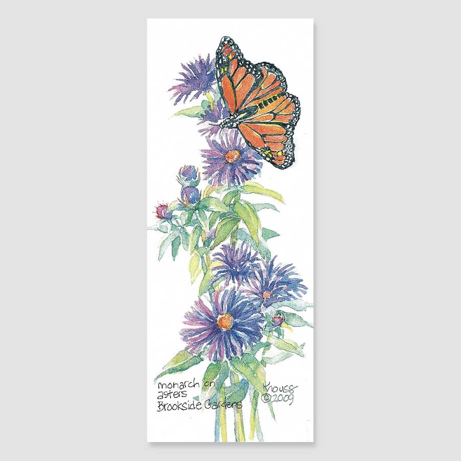 193B monarch bookmark