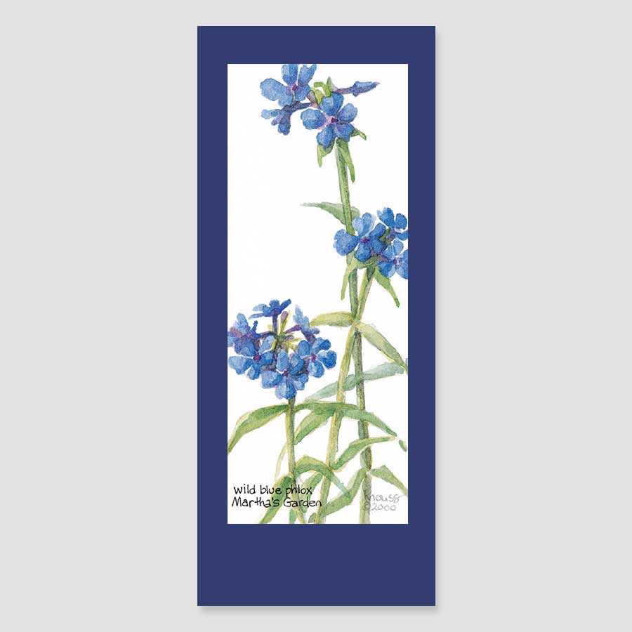 151BMC phlox bookmark card