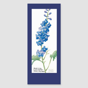 172BMC delphinium bookmark card