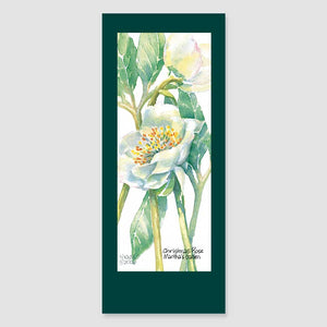 189BMC Christmas rose bookmark card