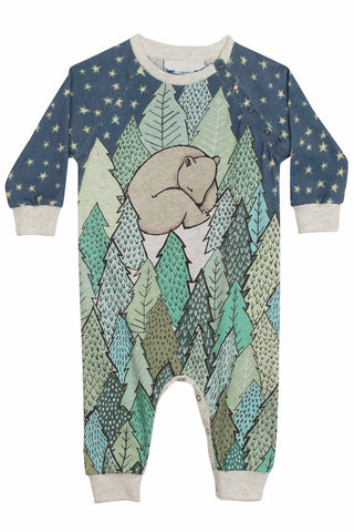 Sleep Tight Forest Romper