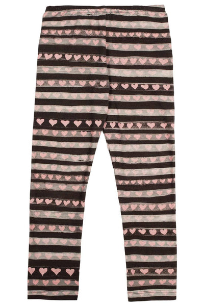 Stripe Heart Legging