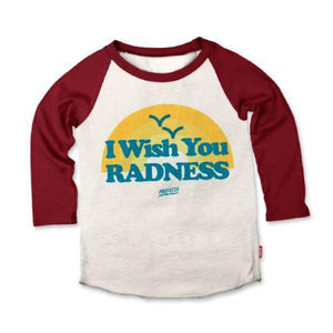 I Wish You Radness Raglan