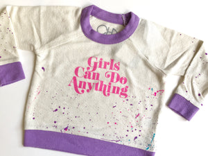 Girls Can Do Anything Sweater