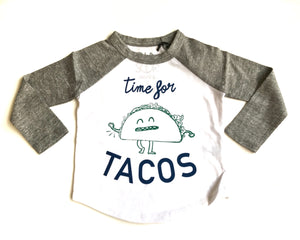 Time for Tacos Raglan