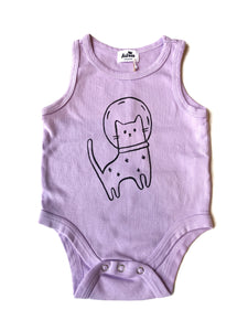 Organic Space Cat Onesie
