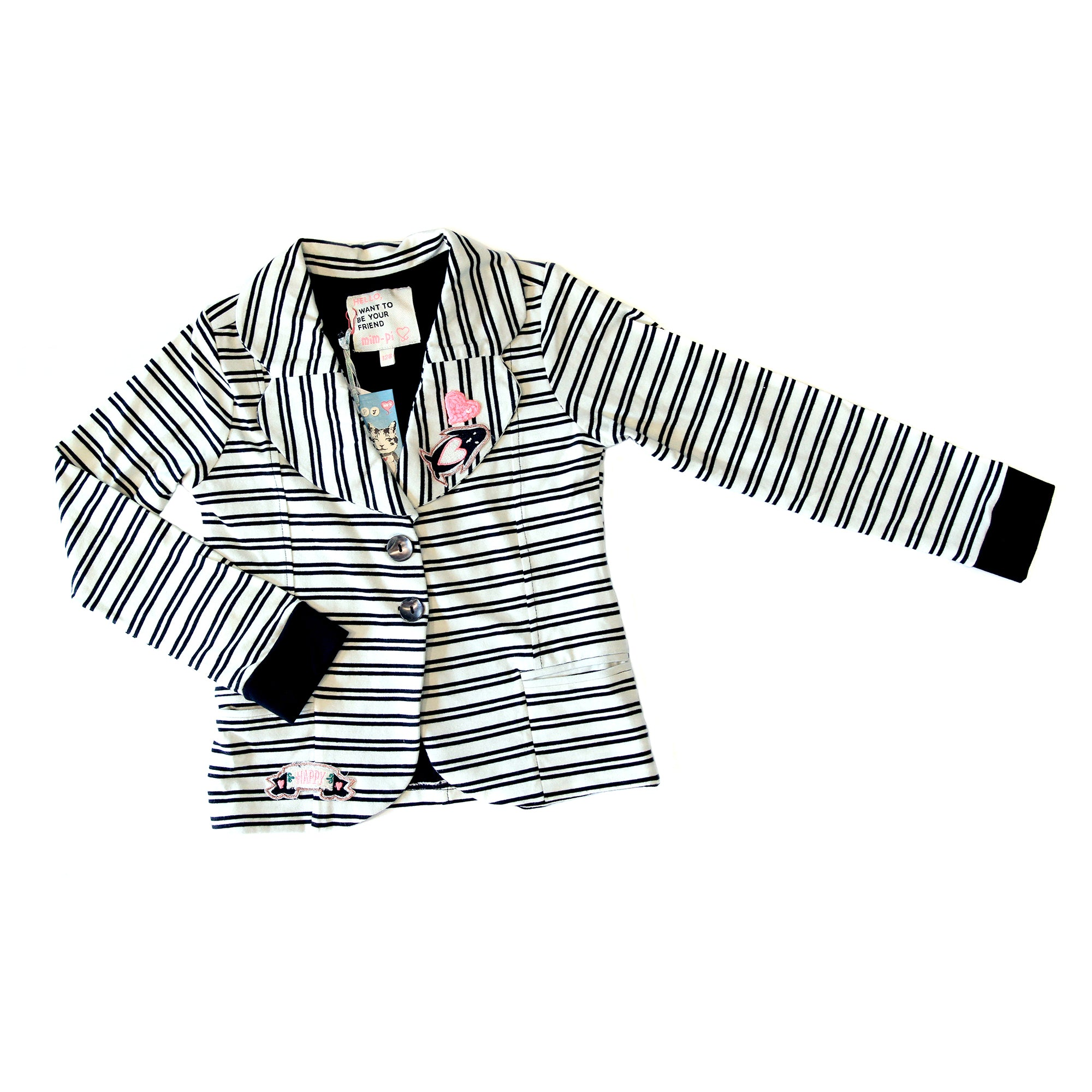 Mim-Pi Striped Jacket