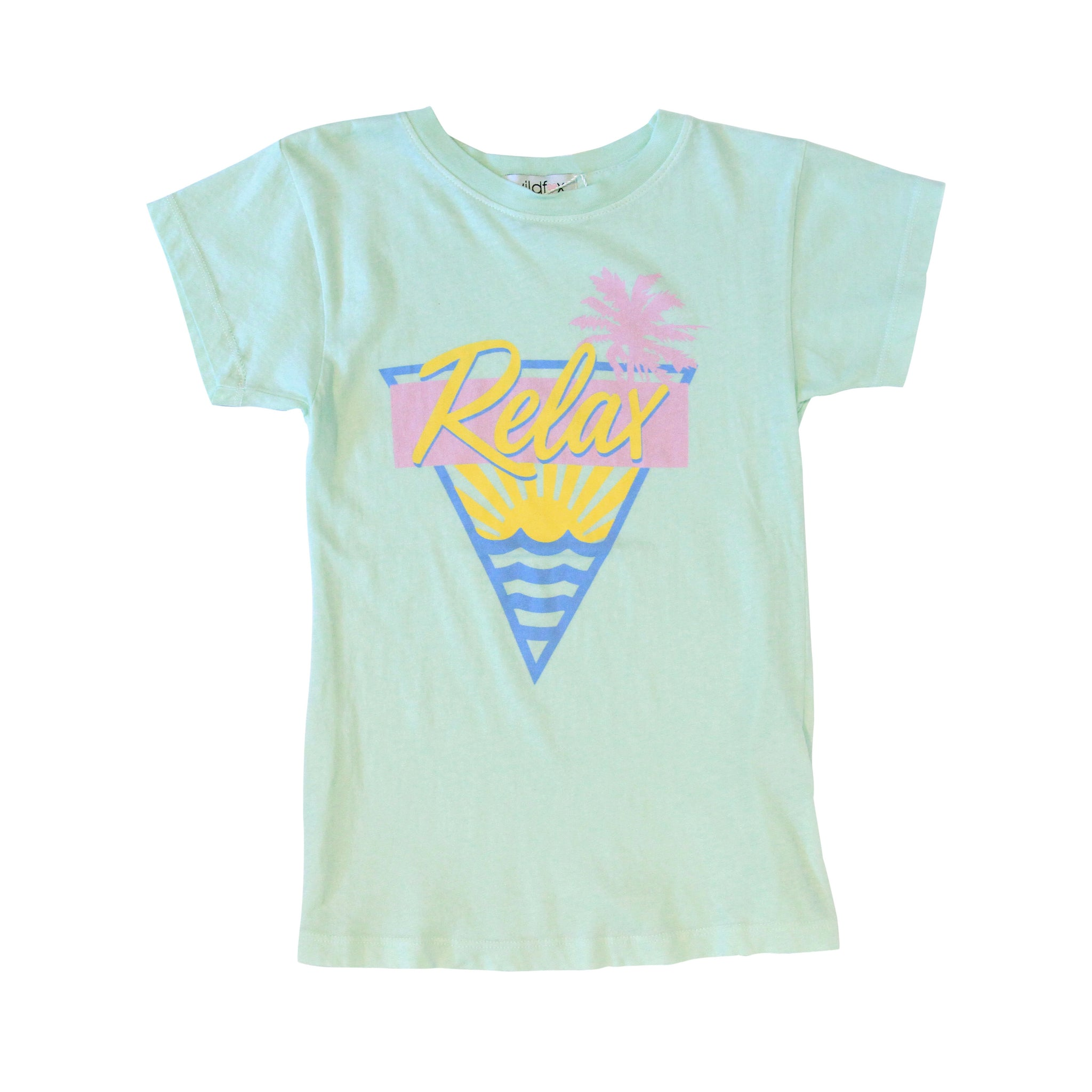 Relax Mint Tee
