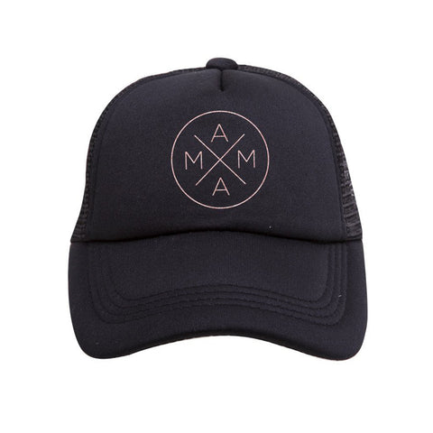 Mama Rose Gold Trucker Hat