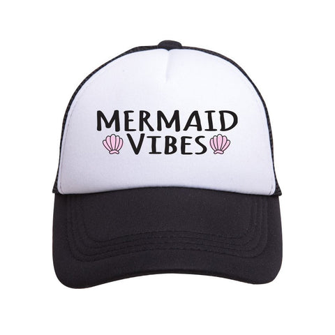 Youth Mermaid Vibes Trucker Hat