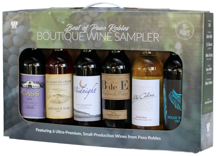 The Boutique Wine Sampler Box: Best of Paso Robles