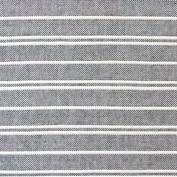 White and grey horizontal stripe weaving by Kufri Life