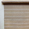 Tan and cream horizontal stripe textile by Kufri Life