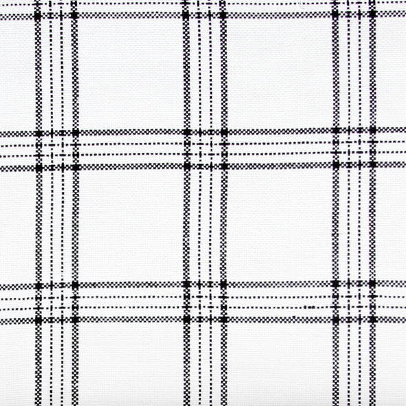 Natural plaid textile by KUFRI