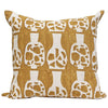 Potishead in Gold Pillow