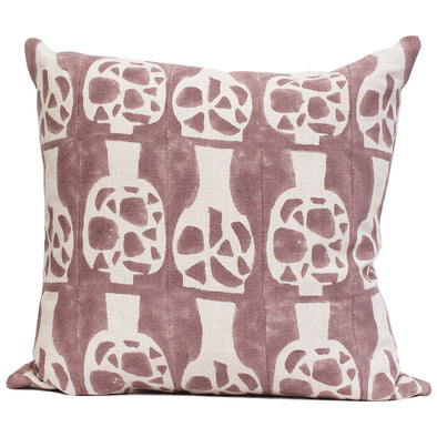 Potishead in Mauve Pillow