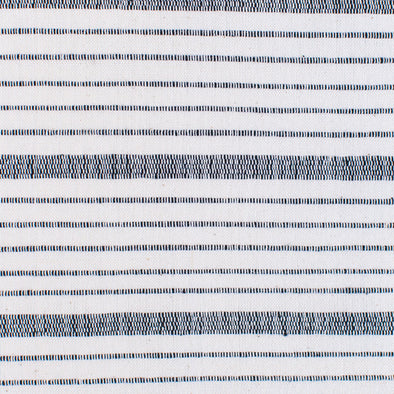 Natural and black horizontal stripe textile by Kufri Life