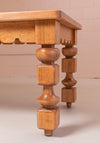 Decorative leg wooden table by KUFRI