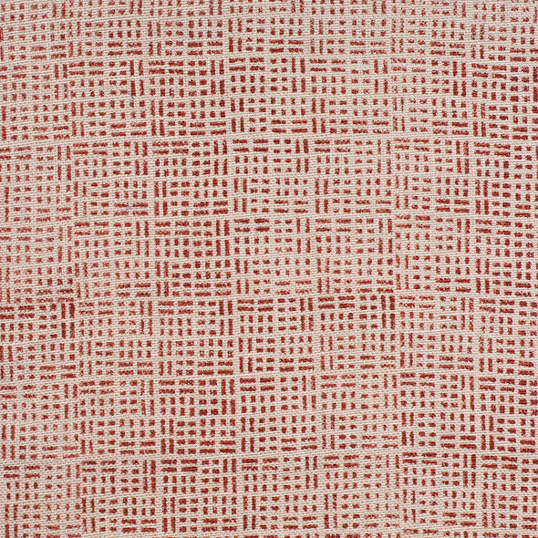 Red blockprint textile