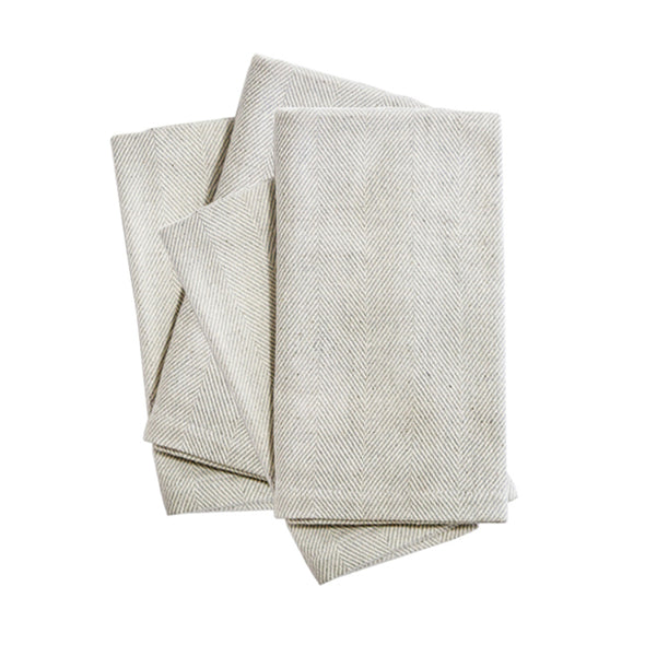 Mora Grey Napkins (set of 4)