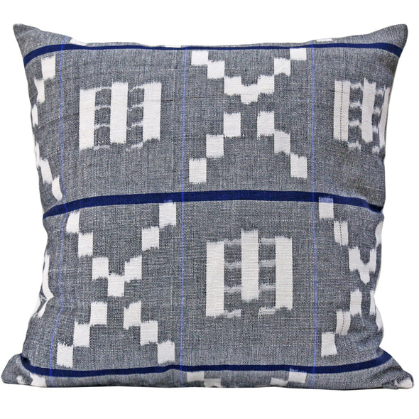 Takamaka in Grey & Blue Pillow