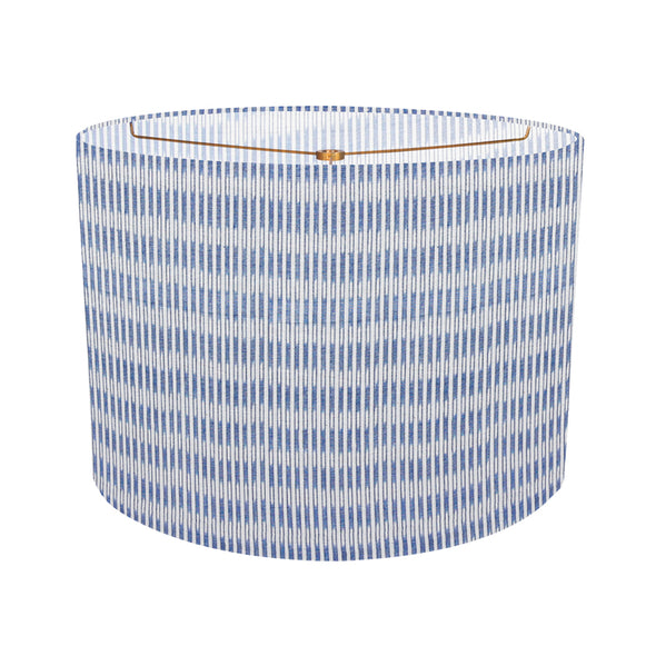 Sanjana Stripe Blue Custom Lampshade