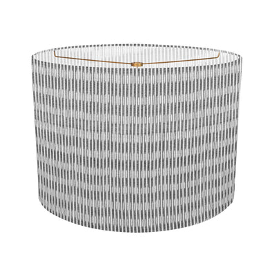 Sanjana Stripe Grey Custom Lampshade
