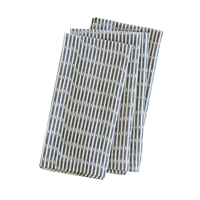 Sanjana Stripe Grey Napkins (set of 4)