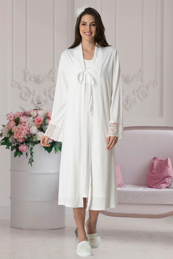 3 piece Maternity& Nursing Dressing Gown Set