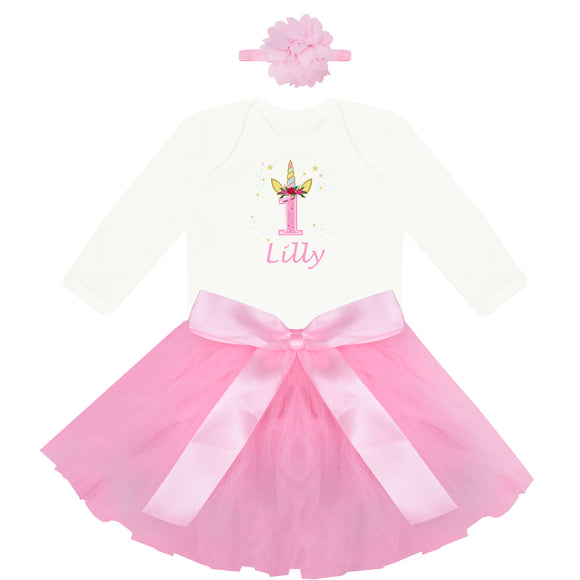 Personalised Baby Birthday Outfit - miniplum