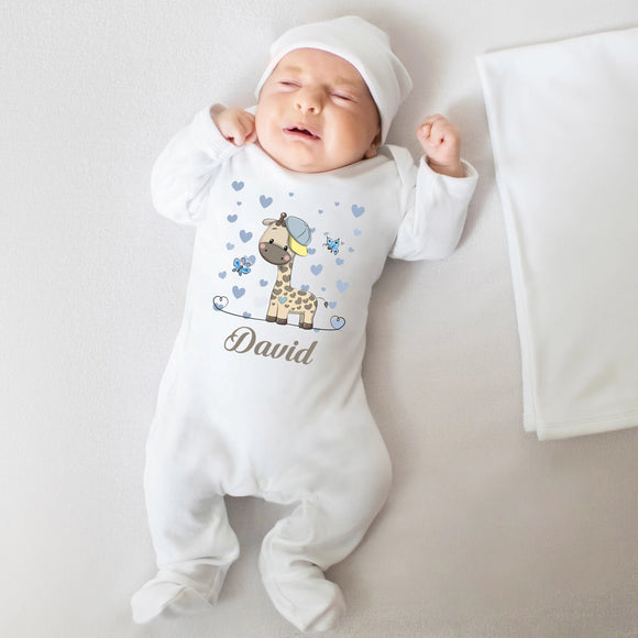 personalised going home outfit for boys