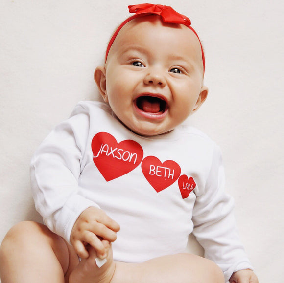 valentines day baby outfit